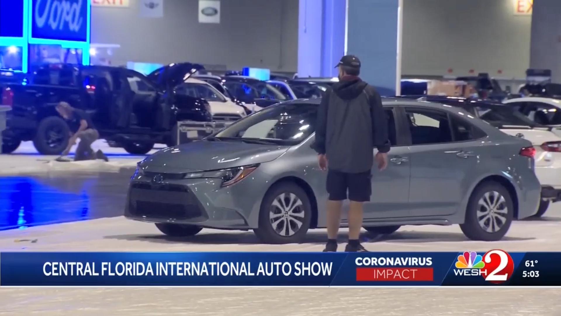 WESH 2 | Orlando Auto Show Safety