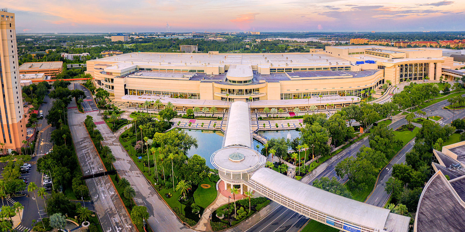 Orange County Convention Center skywalk