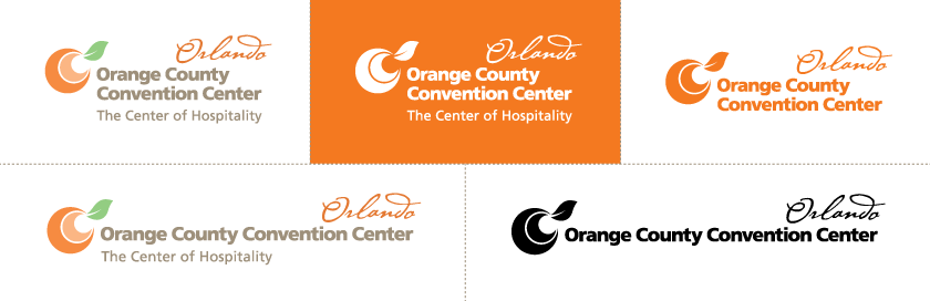 Orange County Convention Center logos