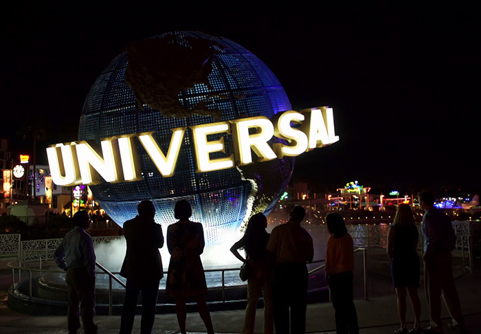 Universal Orlando Resort spotlight video
