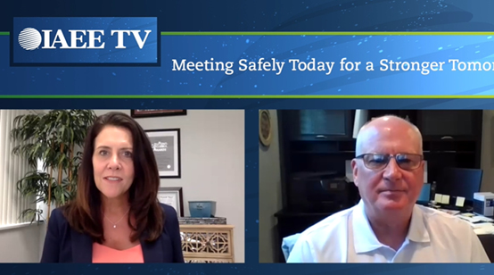 IAEE TV | Meeting Safely Interview