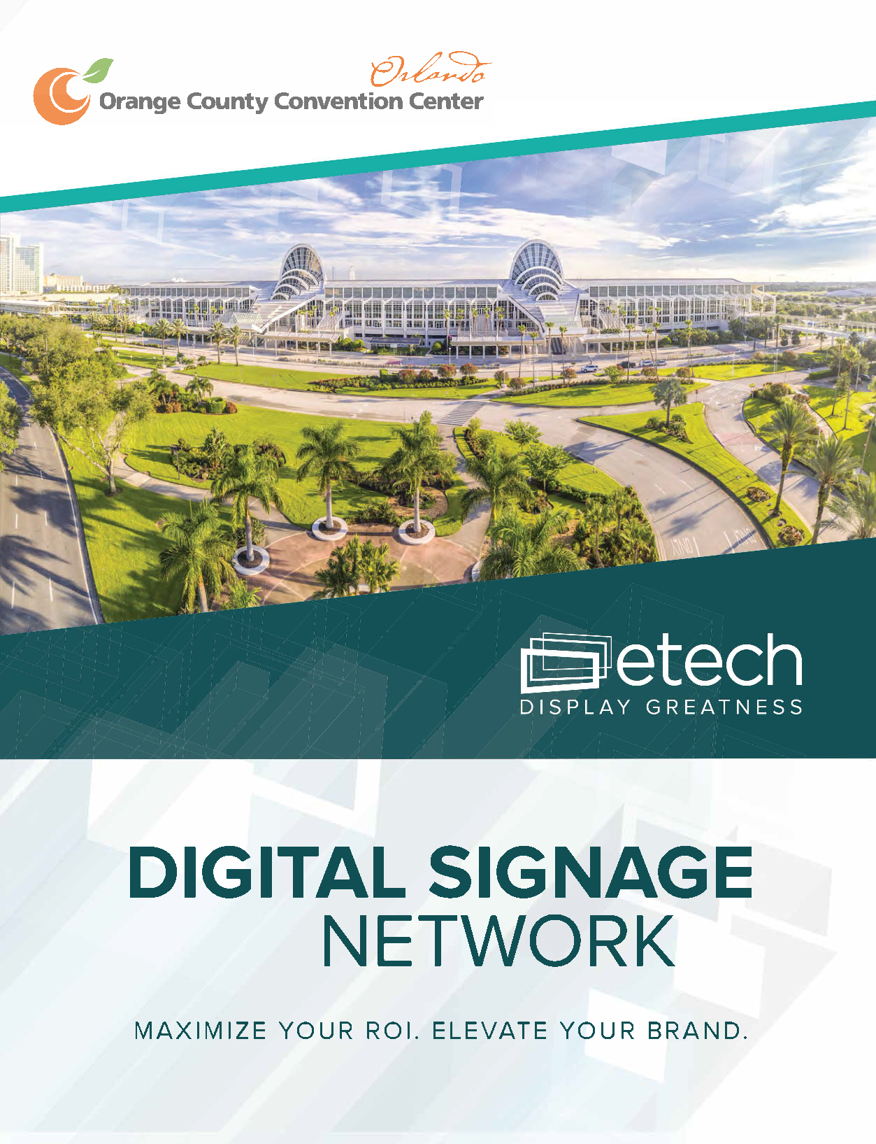 eTech Digital Signage Network PDF cover
